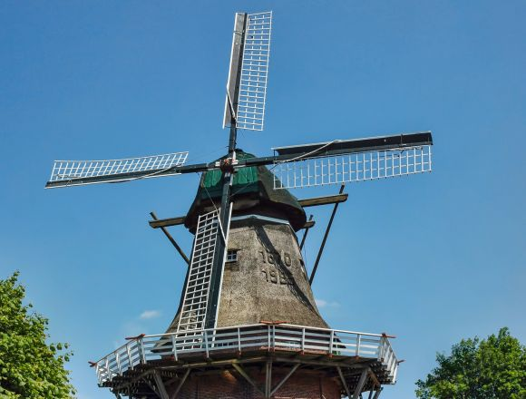Windmühle Scharrel im Oldenburger Münsterland